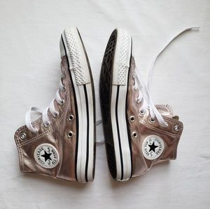 Converse Shoes - Girls Youth Converse Sneakers High Top Rose Quartz